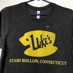 Luke's Stars Hollow Connecticut T-Shirt Juniors 2X